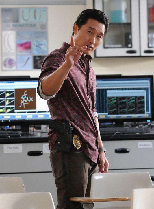 Ermittelt in einem neuen Fall: Chin (Daniel Dae Kim) ... - Bildquelle: 2012 CBS Broadcasting, Inc. All Rights Reserved.