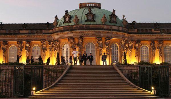 Schloss Sanssouci - Bildquelle: dpa