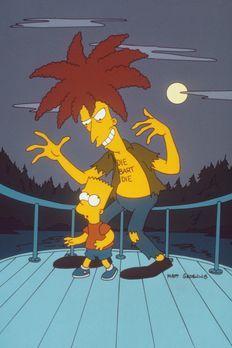 Die Simpsons - Tingeltangel-Bob (r.), aus dem Gefängnis entlassen, macht &quo...
