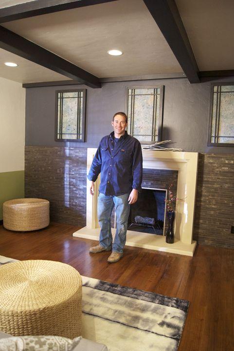Möchte einem Wohnzimmer einen Hauch von Asien verschaffen: Josh Temple ... - Bildquelle: 2009, DIY Network/Scripps Networks, LLC
