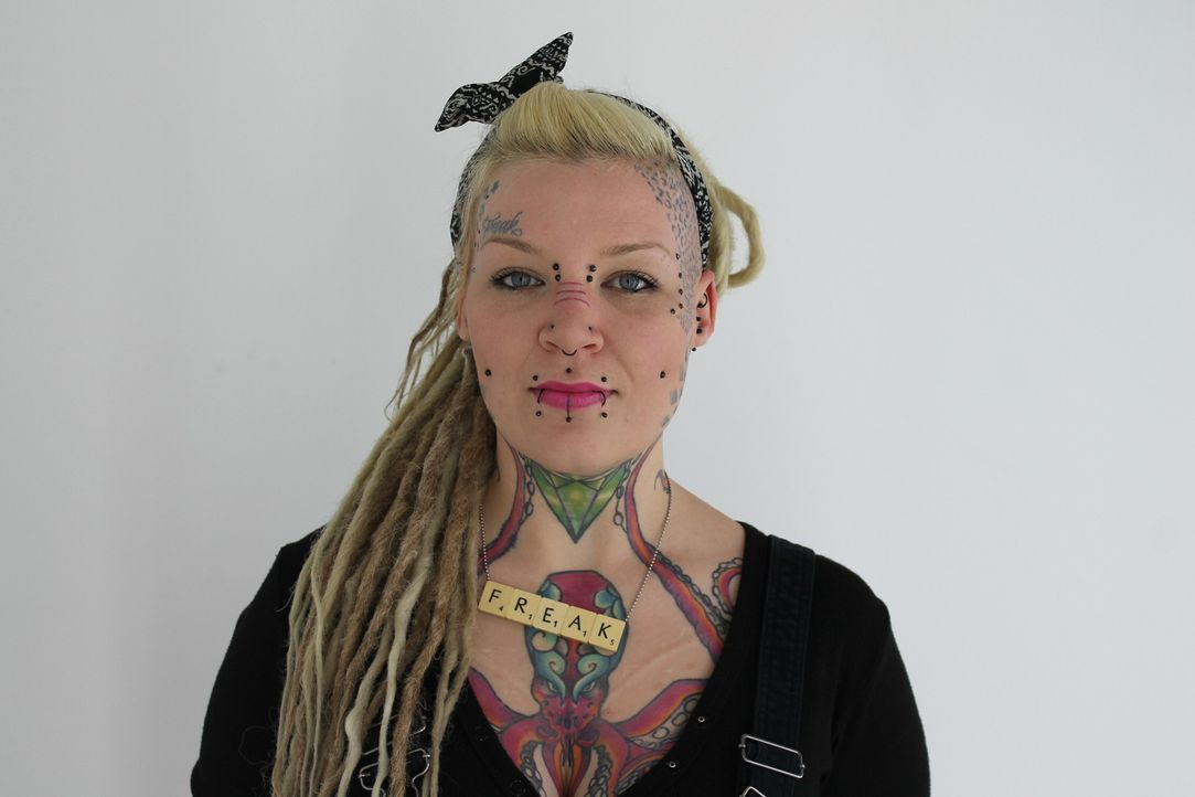 Die tätowierte und gepiercte Dreadlock-Trägerin Torz möchte ein anständiges Makeover, das trotzdem ihre Liebe zum Außergewöhnlichen nicht zu sehr ve... - Bildquelle: Studio Lambert & all3media Int.