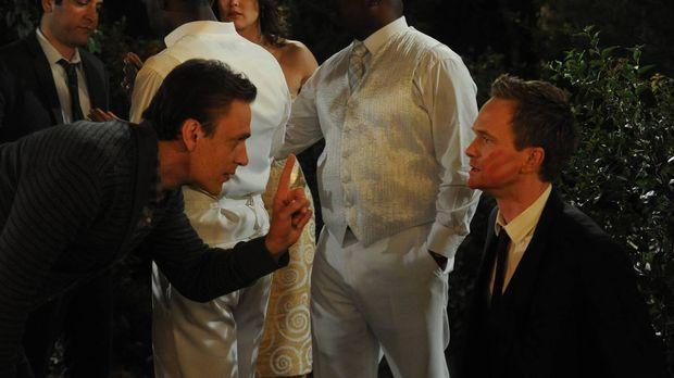 Nach vielen vergeblichen Versuchen möchte Marshall (Jason Segel, l.) Barney (...