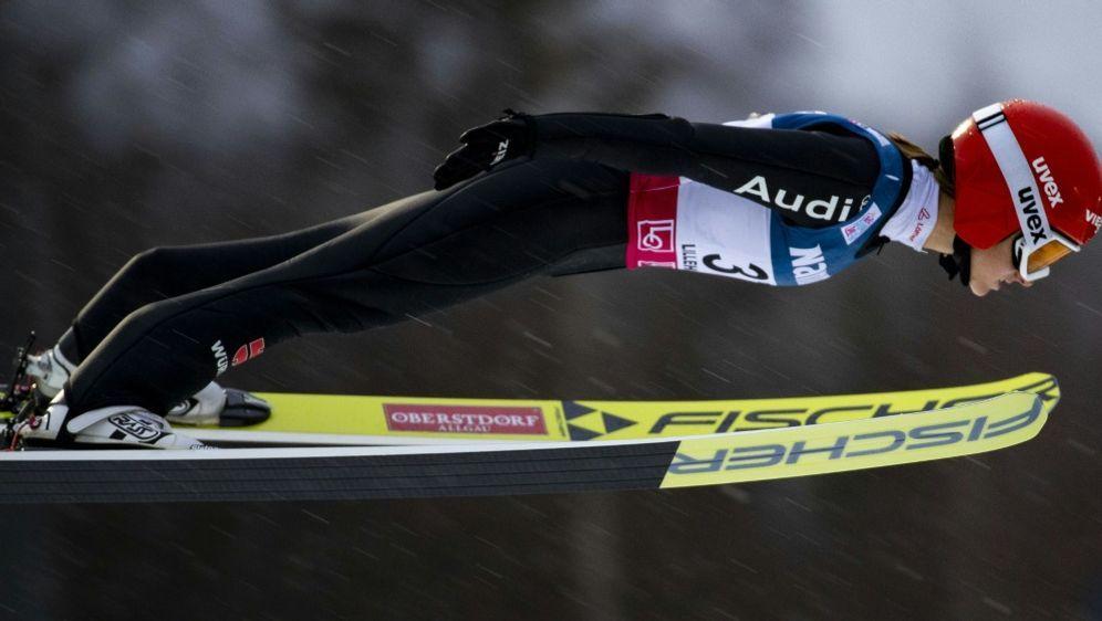 Zweite in Sapporo: Katharina Althaus - Bildquelle: SID-SID-AFPGeir OLSEN