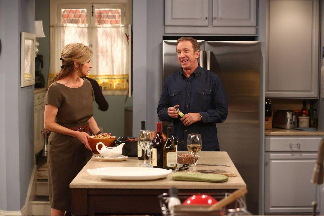 Mike (Tim Allen, r.) weiß nicht, wie er mit der Geschäftsidee seines Vaters umgehen soll, da ist auch Vanessa (Nancy Travis, l.) keine große Hilfe .... - Bildquelle: 2013 Twentieth Century Fox Film Corporation. All rights reserved.