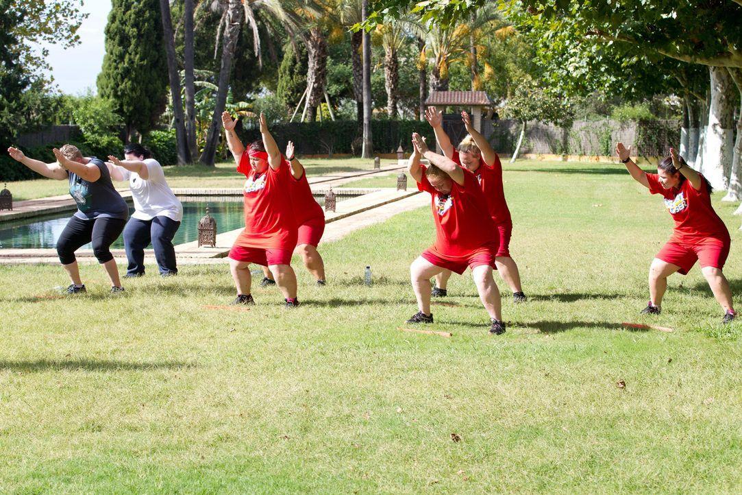 Sport ist alles im Kampf gegen die Pfunde ... - Bildquelle: Enrique Cano SAT.1