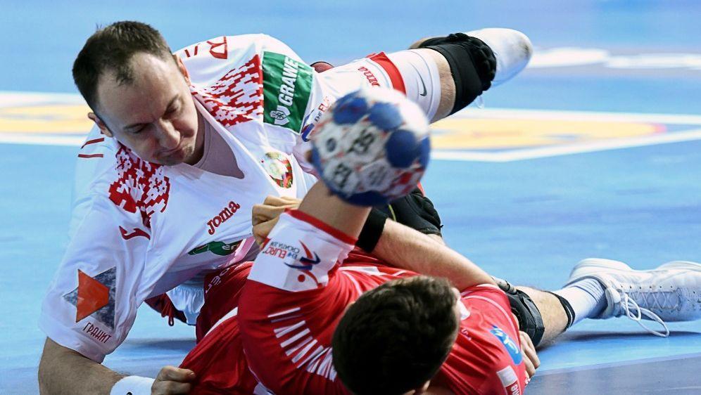 Österreich verlor gegen Weißrussland 26:27 - Bildquelle: AFPSID-