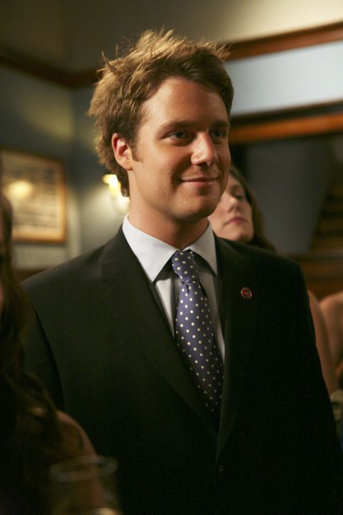 Hofft, dass Casey die Wahl zum Omega Chi Liebling gewinnt: Evan (Jake McDorman) ... - Bildquelle: 2007 ABC FAMILY. All rights reserved. NO ARCHIVING. NO RESALE.