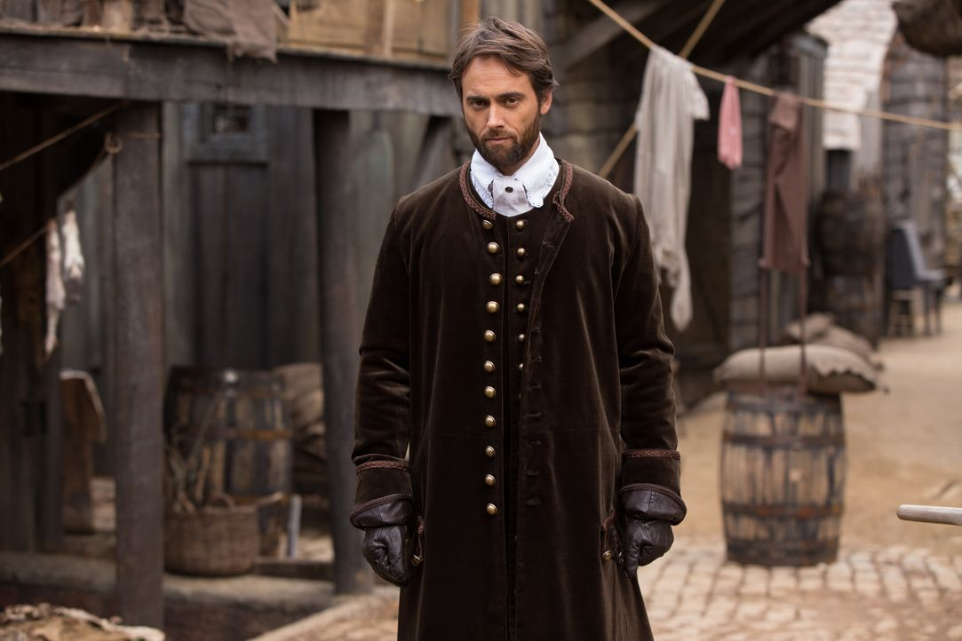 Dr. Samuel Wainwright (Stuart Townsend) will eine gefährliche Krankheit, die seit kurzem in Salem wütet, bekämpfen. Doch kommt er mit wissenschaftli... - Bildquelle: William Lothridge 2015 Fox and its related entities. All rights reserved.