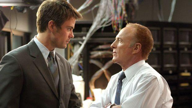 Ed Deline (James Caan, r.) und Danny McCoy (Josh Duhamel, l.) sind ein gutes...