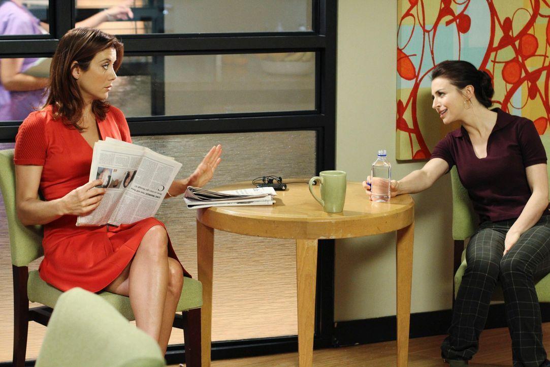Der Fall um die schwangere Komapatientin Georgie ist für Amelia (Caterina Scorsone, r.) und Addison (Kate Wash, l.) nicht leicht ... - Bildquelle: ABC Studios