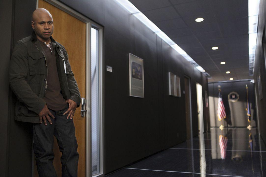 Ermittelt in einem neuen Fall: Sam (LL Cool J) ... - Bildquelle: CBS Studios Inc. All Rights Reserved.