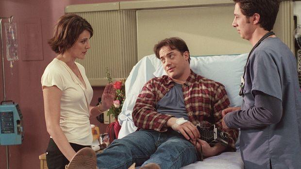 Ben (Brendan Fraser, M.) zeigt einige Symptome, die auf Leukämie schließen la...