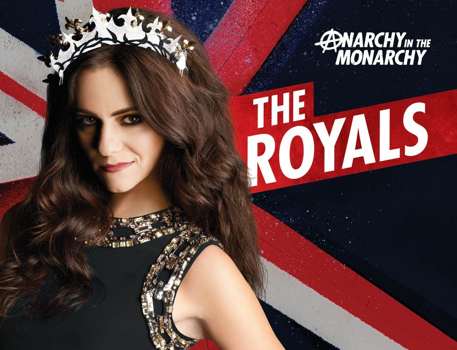 (1. Staffel) - The Royals: Prinzessin Eleanor (Alexandra Park) ... - Bildquelle: 2014 E! Entertainment Media LLC/Lions Gate Television Inc.