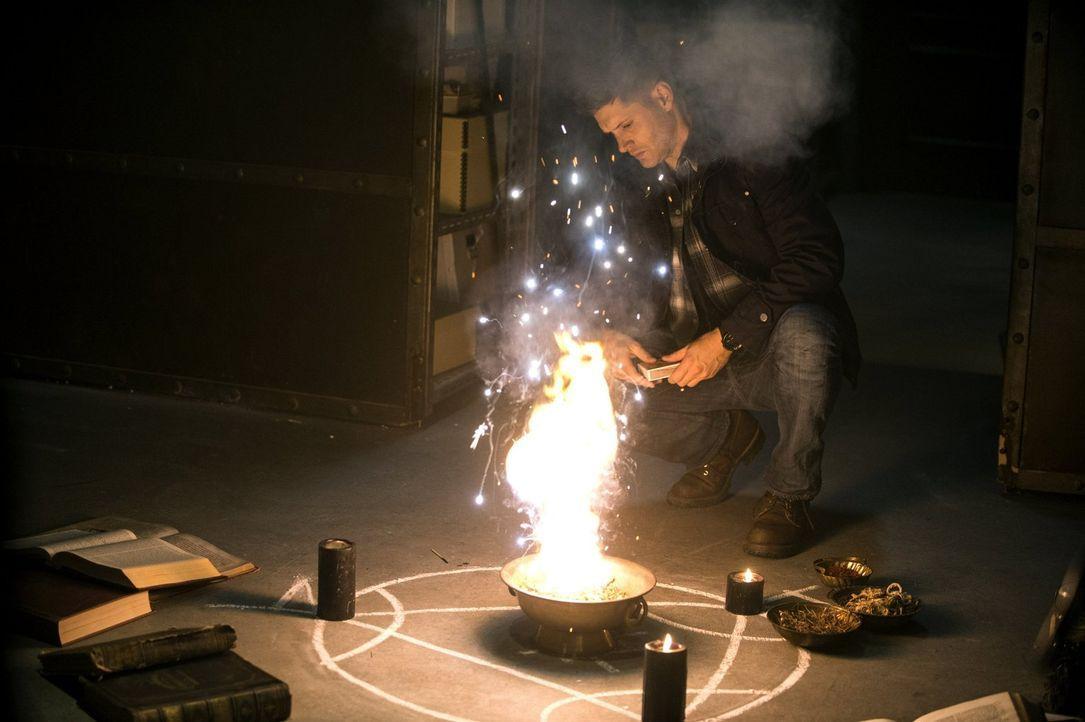 Als Dean (Jensen Ackles) keinen anderen Ausweg mehr weiß, beschwört er tatsächlich den Teufel persönlich. Doch kann dieser ihm wirklich helfen, den... - Bildquelle: 2013 Warner Brothers