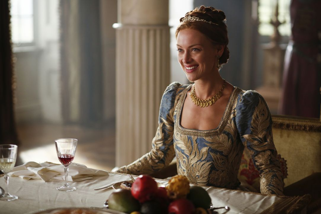 Königin Elizabeth (Rachel Skarsten) verbündet sich mit einem Abenteurer, der Spanien hitnerging und nun Unterstützung braucht ... - Bildquelle: Marni Grossman Marni Grossman /The CW -   2017 The CW Network, LLC. All Rights Reserved.