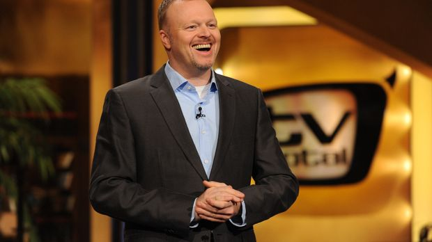 Stefan Raab präsentiert 'TV total' ... © ProSieben