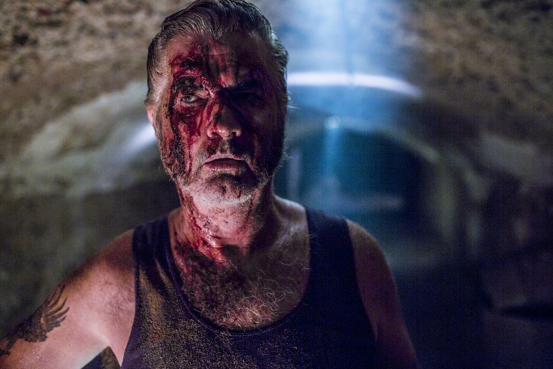 Wer ihm begegnet, hat schon verloren: Outback-Killer Mick Taylor (John Jarratt) ... - Bildquelle: Mark Rogers 2013