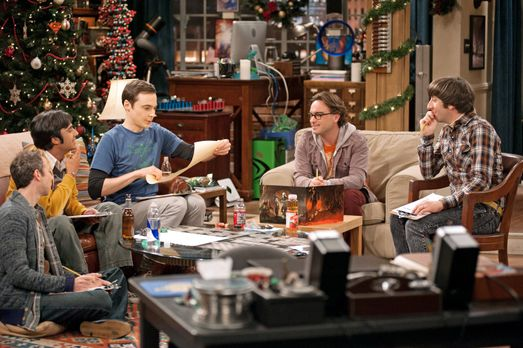 The Big Bang Theory - Ein ganz besonderer Spieleabend: Howard (Simon Helberg,...