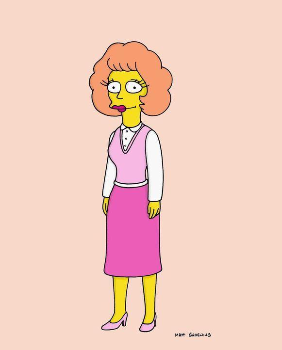 (15. Staffel) - Ist glücklich mit Ned verheiratet: Maude Flanders ... - Bildquelle: und TM Twentieth Century Fox Film Corporation - Alle Rechte vorbehalten