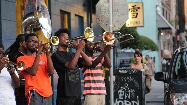 Jazz-Musiker in New Orleans