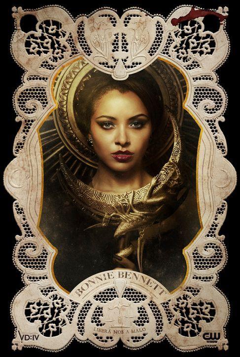 Katerina Graham ist Bonnie Bennett - Bildquelle: Warner Bros Entertainment Inc.
