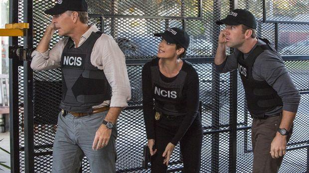 Ein neuer Fall erwartet Pride (Scott Bakula, l.), Brody (Zoe McLellan, M.) un...