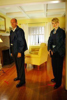 Cold Case - Sind auf alles gefasst: Lt. John Stillman (John Finn, l.) und Det...