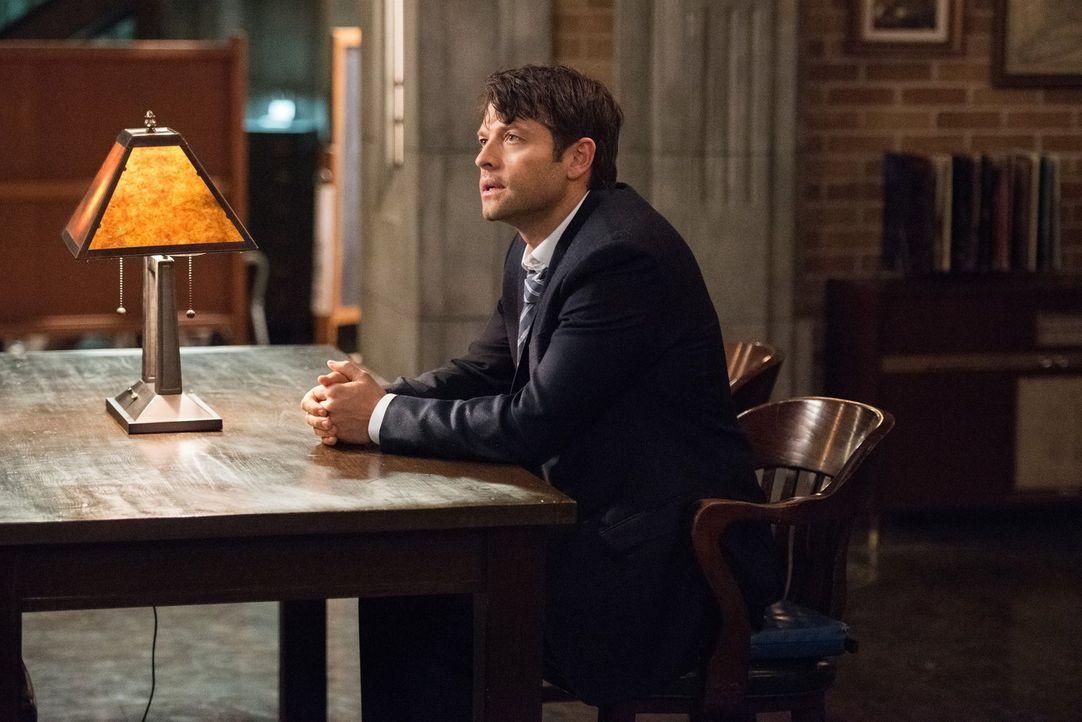 Als Lucifer (Misha Collins) ebenfalls einen Vorteil darin sieht, an eine möglicherweise wirksame Waffe gegen Amara zu kommen, arbeitet er mit den Wi... - Bildquelle: 2014 Warner Brothers
