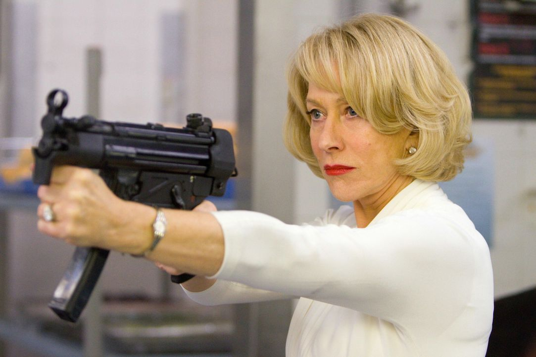 Um keinen Schuss verlegen: Ex-CIA Agentin Victoria (Helen Mirren) ... - Bildquelle: 2010 Concorde Filmverleih GmbH