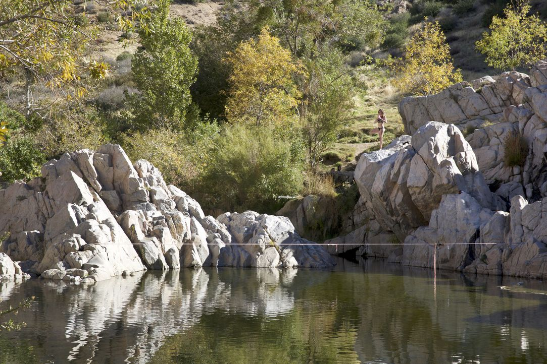 "Die ""Deep Creek Hot Springs"" in San Bernardino in Kalifornien sind naturbelassene Thermalquellen, in denen es sich wunderbar entspannen lässt ... - Bildquelle: 2017,The Travel Channel, L.L.C. All Rights Reserved"