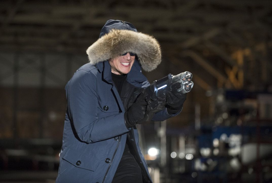 "Versucht alles, um Barry alias ""The Flash"" auszuschalten: Leonard Snart alias Captain Cold (Wentworth Miller) ... - Bildquelle: Warner Brothers."