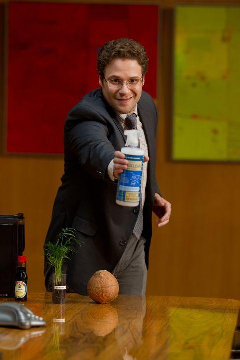 """""""Scioclean"""" - so heißt das umweltfreundliche Reinigungsmittel, das von Chemiker Andrew Brewster (Seth Rogen) entwickelt wurde. Doch noch hat er kein... - Bildquelle: Sam Emerson MMXII Paramount Pictures Corporation. All Rights Reserved."""