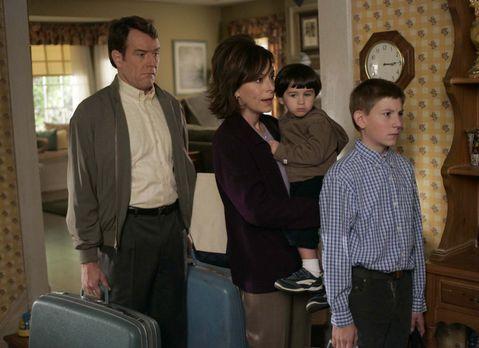 Malcolm mittendrin - Hal (Bryan Cranston, l.) und Lois (Jane Kaczmarek, 2.v.l...
