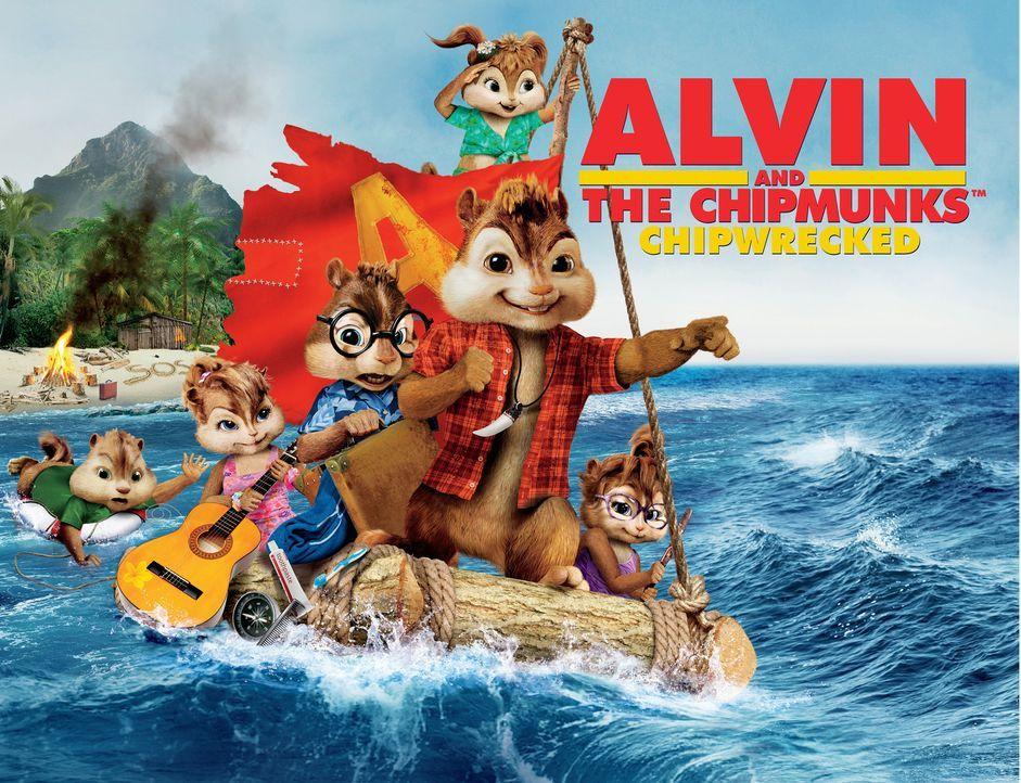 ALVIN AND THE CHIPMUNKS: CHIP-WRECKED - Plakatmotiv - Bildquelle: 2011 Twentieth Century Fox Film Corporation. All rights reserved.