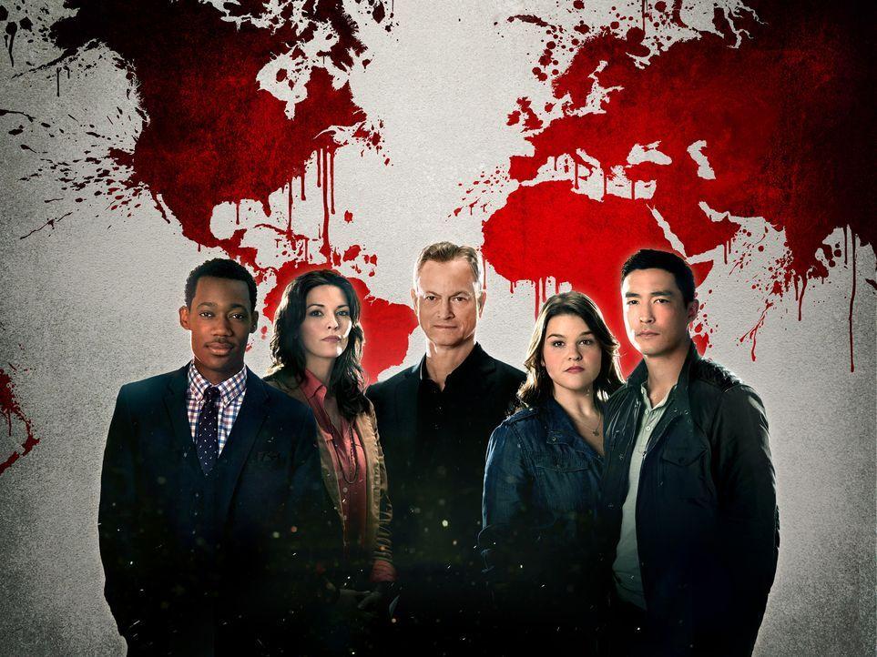 (1. Staffel) - Sie lösen internationale Fälle, in die US-Bürger verwickelt sind: Russ Montgomery (Tyler James Williams, l.), Clara Seger (Alana De L... - Bildquelle: ABC Studios