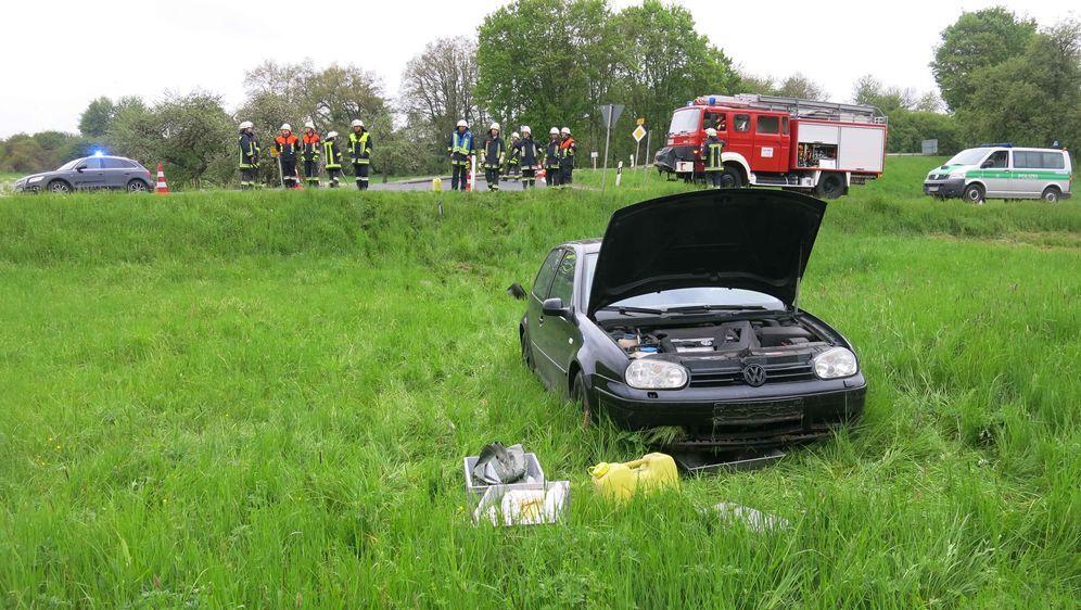 - Bildquelle: Polizei Unterfranken/Handout Polizei/dpa