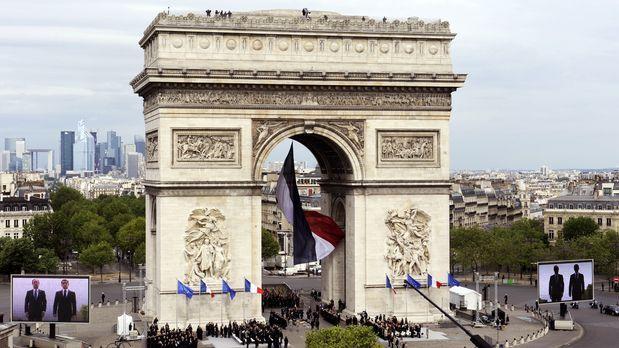 Arc-de-Triomphe-12-05-08-AFP - Bildquelle: AFP