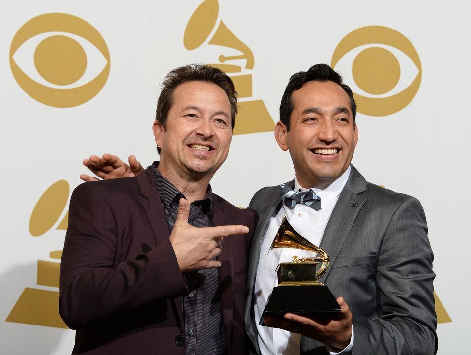 Grammy-Awards-Pacific-Mambo-Orchestra-14-01-26-AFP - Bildquelle: AFP
