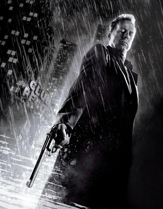 Der alternde Polizist Hartigan (Bruce Willis) versucht  verzweifelt, Nancy ein zweites Mal zu retten ... - Bildquelle: Dimension Films
