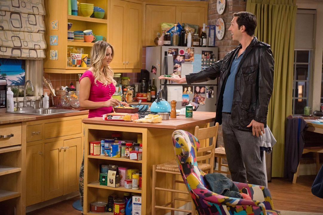 Was wäre aus den Freunden geworden, wenn sie Sheldon nie getroffen hätten? Wäre Penny (Kaley Cuoco, l.) anstatt mit Leonard mit Zack (Brian Thomas S... - Bildquelle: Warner Bros. Television