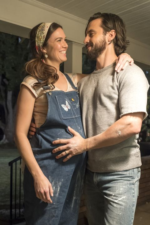 (v.l.n.r.) Rebecca (Mandy Moore); Jack (Milo Ventimiglia) - Bildquelle: Ron Batzdorff 2017-2018 NBCUniversal Media, LLC.  All rights reserved.