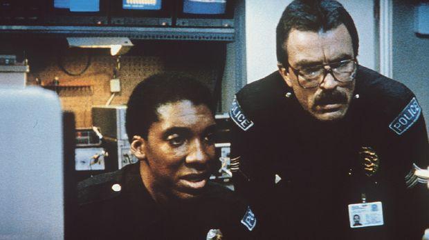 Marvin (Stan Shaw, l.) und sein Kollege Ramsay (Tom Selleck, r.) werden immer...