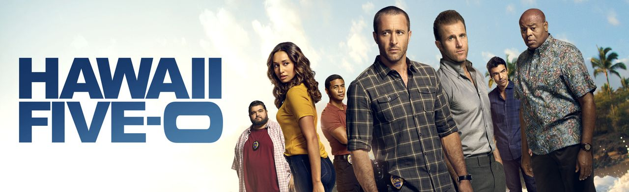 (8. Staffel) - Kämpfen gegen das organisierte Verbrechen auf Hawaii: Steve McGarrett (Alex O'Loughlin, M.), Danny Williams (Scott Caan, 3.v.r.), Ada... - Bildquelle: 2017 CBS Broadcasting Inc. All Rights Reserved.