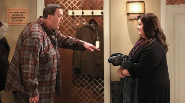 Geraten in einen Streit: Mike (Billy Gardell, l.) und Molly (Melissa McCarthy...
