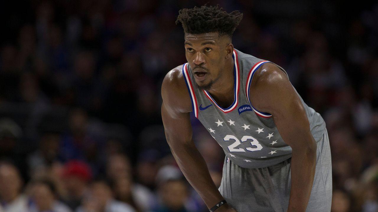 Jimmy Butler (Philadelphia 76ers) - Bildquelle: 2018 Getty Images