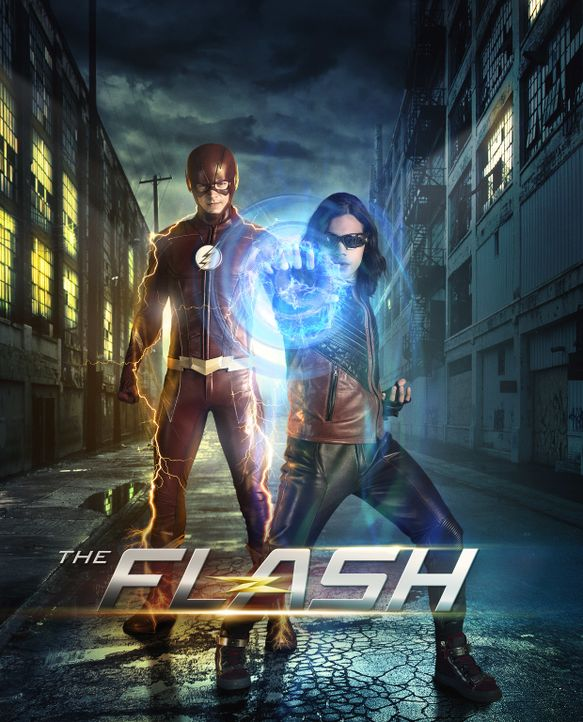 (4. Staffel) - The Flash - Artwork - Bildquelle: 2017 Warner Bros.