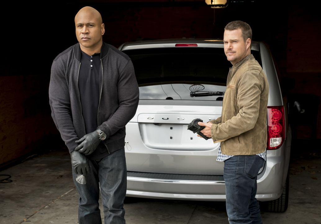 Sam Hanna (LL Cool J, l.); G. Callen (Chris O'Donnell, r.) - Bildquelle: Jessica Brooks 2018 CBS Broadcasting, Inc. All Rights Reserved/Jessica Brooks