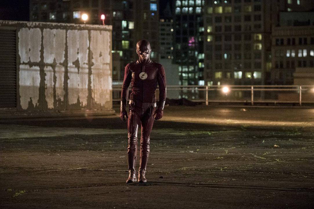 Wird es Barry alias The Flash (Grant Gustin) gelingen, die Zukunft zu verändern und somit Iris' Leben retten? - Bildquelle: 2016 Warner Bros.