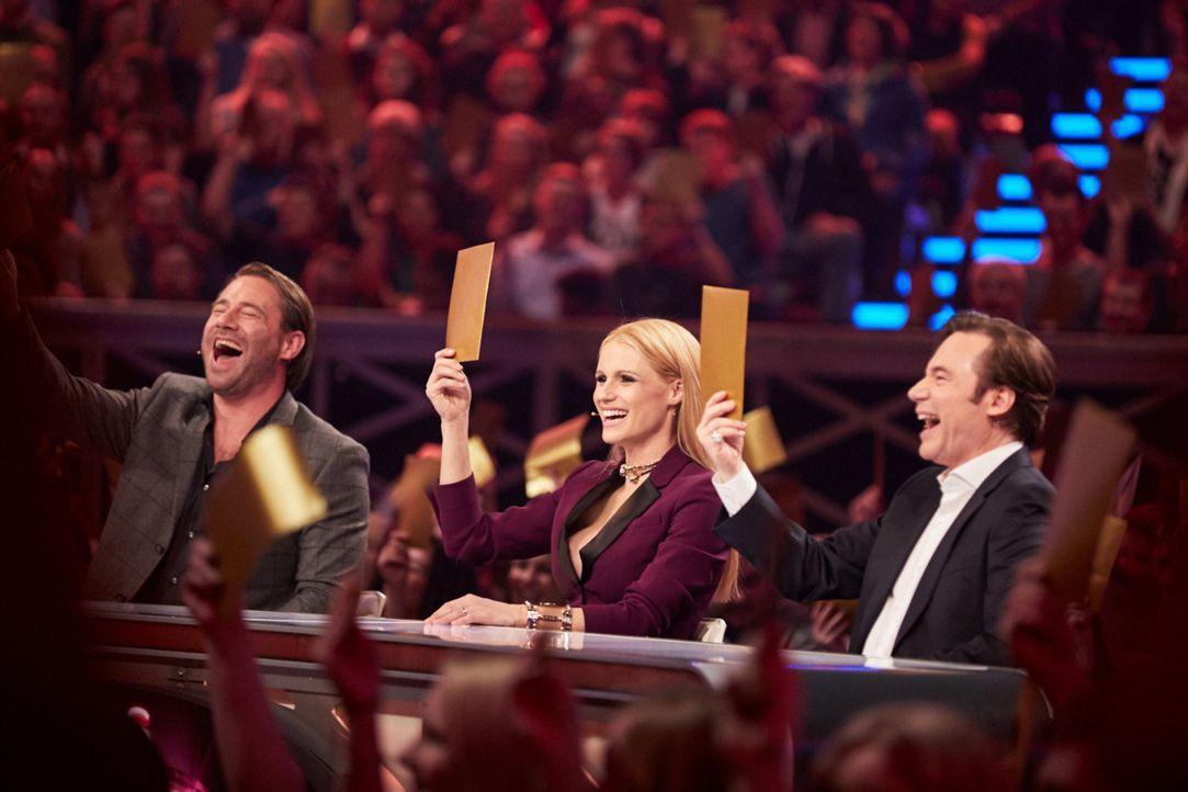 """Sie sind die Besten ihrer Klasse, die Meister ihres Fachs und jeder für sich eine echte Sensation. In """"It's Showtime - Das Battle der Besten"""" wollen... - Bildquelle: Stefan Hobmaier SAT.1"""