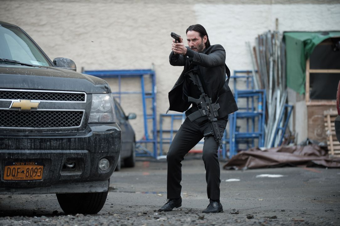 Hat die Faxen dicke: Hitman John Wick (Keanu Reeves) schlägt gnadenlos zurück ... - Bildquelle: 2014 SUMMIT ENTERTAINMENT, LLC. ALL RIGHTS RESERVED.